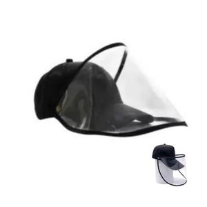Face Shield with Basketball Cap Hat with Shield